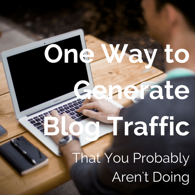 Generate Blog Traffic